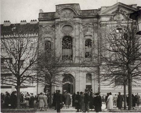 Alte Synagoge am Platz der Einheit